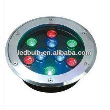 RGB 9W Unterirdische LED-Leuchten