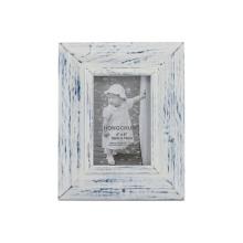 Waschen Weißer Hölzerner Fotorahmen für Hauptdekoration