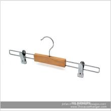 Extension Clips en bois cintre bas pantalon jupe Toursers Hanger