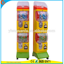 Hot Sell Novelty Design Poplar Toy Kid Game Station Gashapon Vending Machine