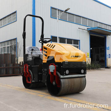 High Vibratory Force Tandem Road Roller Compactor