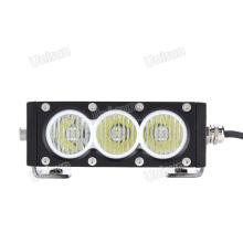 Barra de luces LED para automóvil de una sola fila CREE 12V 30W