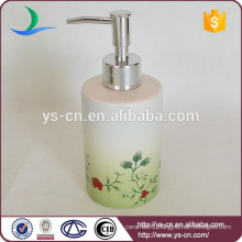 flower and plants fresh natural bath set with lotion dispenser for hotel