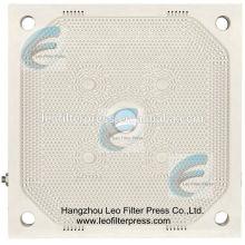 Sludge Dewatering Filter Press High Squeezing Pressure PP Membrane Filter Plate