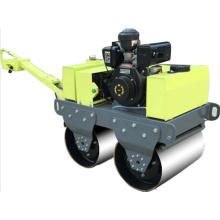 Double steel wheel asphalt compactor factory price manufacturer new mini vibratory road roller