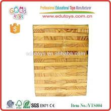 Bloc Jenga géant en bois personnalisé
