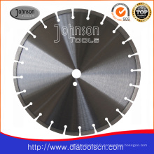Fraise en béton armé de 350 mm: lame de scie à diamant circulaire