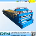 Double Layer Aluminium Roof Panel Forming Machine