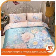 Großhandel gedruckt mit bunten Blumen Bettwäsche
