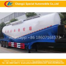 Tri-Axle 55cbm V-Type Bulk Concrete Cement Semi Trailer