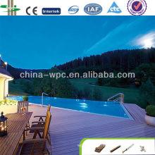 chão de materiais de construção de WPC