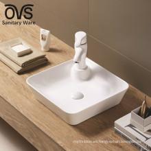 Fregadero del baño de la fábrica del diseño popular de China Factory Vessel