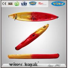2 Adult + 2 Kids Large Room Sit on Top Plastic Kayak