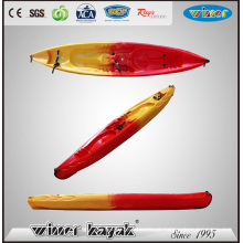 2 Adultos + 2 Crianças Quarto Grande Sit on Top Kayak de plástico