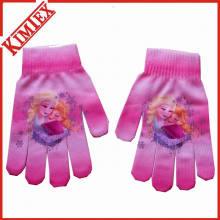 Fashion Winter Warm Digital Printing Glove