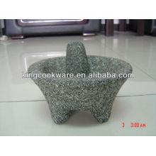 Authentischer mexikanischer Granit Molcajete