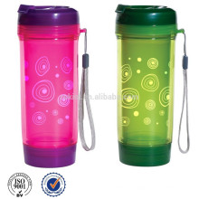 BPA free double wall tea bottle with infuser filter