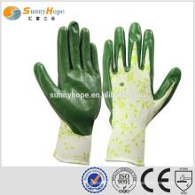 Sunnyhope sehr sicherheit Muster Nitril Gummihandschuhe