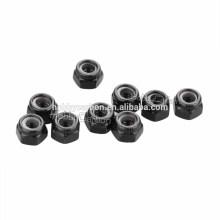 M4/M3/M2.5/M2.0 *5.5 steel black anodized locknuts/Lock nuts