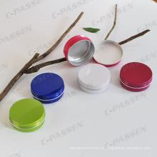 Lata de lata de alumínio colorida 60g da China