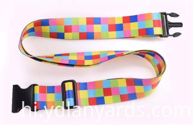 Heat Transfer Polyester Luggage Strap