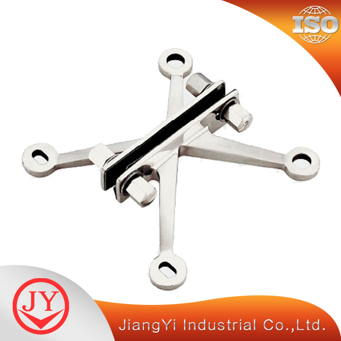High profile connector for glass spider joint