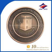 2017 дешевые искусств и поддельные ремесла золотых монет напечатанные изготовленные на заказ монеты жетон