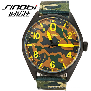 High quality Quartz Army Green Sports Hommes japan movt watches