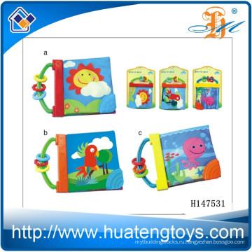 Оптовая образовательных Ребенок книга мягкой ткани для кровати окружении H147531