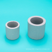 super ceramic raschig ring pcaking/ceramic media from 3mm to 150mm with 18 years manufacturing experience
