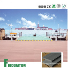 WPC Solid Core Composite Decking Boards