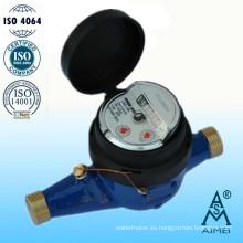 Medidor de agua de cuerpo de latón de Multi Jet tipo seco