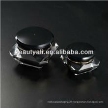 Black Diamond Acrylic Cosmetic Jar