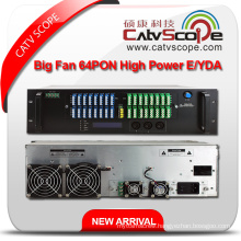 64pon High Power 1550nm 3u Multi-Ports Erbium Ytterbium Co-Doped Optical Amplifier Y/EDFA
