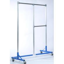 Furniture Cloth Rack Store Display Hanger with Castor (SLL-V020)