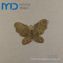 Elegante Kupfer-mit Filigran geschmückte Ohrringe mit Schmetterlings-Design für Frauen