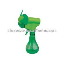 Plastic handheld water spray fan