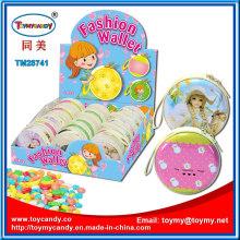 Kunststoff Schlüsselanhänger Tasche Spielzeug mit Süßigkeiten