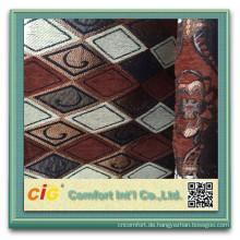 Jacquard-Polyester-Sofa-Gewebe 100% Polyester-Chenillegewebe
