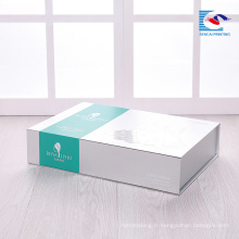 Chine usine artisanat excellence peau soins costume emballage boîte