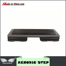 """Fitness Exercise Stepper Platform Adjust 4""""- 6""""- 8"""" W/ Riser"""