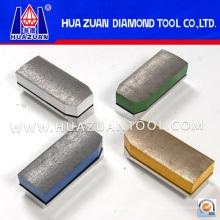 Bloque abrasivo de alto brillo y diamantes Fickert para pulido de granito