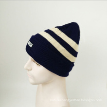 Winter Acrylic Knit Cuff Beanie