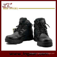 516 Del exército botas tático militar botas botas de cano alto preto