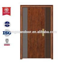 Madeira Aço Porta de ferro Aço Armored Door Designs