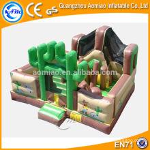 Parcours d'obstacles drôle pour enfants, cours d'obstacles commerciaux à l'intérieur / cours d'exportation à l'importation à vendre