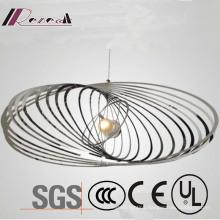 Modern Decorative Chrome Stainless Steel Globe Track Pendant Lamp
