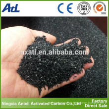 Carbón activado de carbón de coco