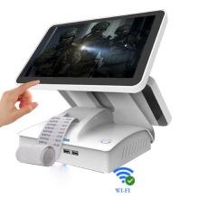 Desktop-Touchpanel-Pos-Maschine mit Drucker