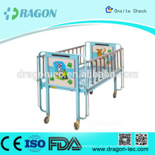 DW-CB01 Hot Sell Qualität Krankenhaus Kinderbett mit Rädern